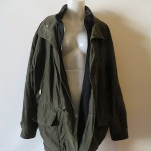 Andrew Marc Jackets & Coats - ANDREW MARC NEW YORK GREEN/BLACK COAT- SZ XL*
